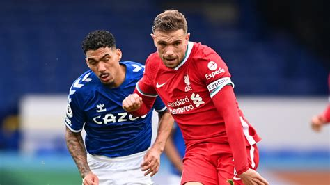 Everton 2-2 Liverpool: Henderson winner chalked off by VAR ...