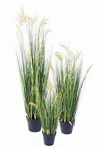 Plante Exterieur Artificielle : plante artificielle papyrus scirpus validus fleuri en pot int rieur h 60 cm ~ Teatrodelosmanantiales.com Idées de Décoration