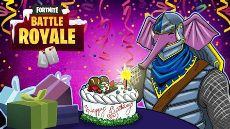 Fortnite Br Gorillaphent Birthday By Lordmaru4u On Deviantart