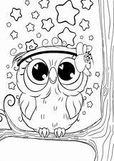 Coloring Owl Tulamama Easy Sheets Colouring Books Printables sketch template