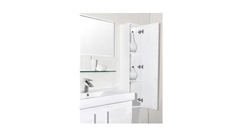 colonne rangement salle de bain blanc laqu 233 hauteur 130 cm