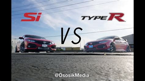Type R Vs Si by 2017 Type R Vs Si 1 5l Honda Civic Si Se Puede