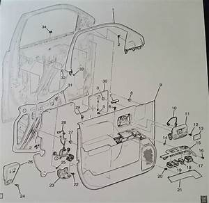 Diagrams To Remove 2006 Gmc Sierra 3500hd Driver Door