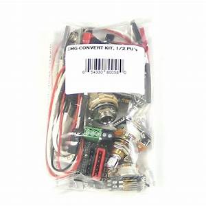 Emg 1 Or 2 Pickup Gibson Style Complete Active Wiring Kit