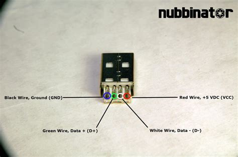 micro usb wiring color code wiring library