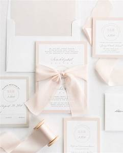 modern circle logo ribbon wedding invitations ribbon With ribbon embellishments wedding invitations