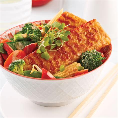 cuisiner tempeh tempeh asiatique aux légumes recettes cuisine et nutrition pratico pratique