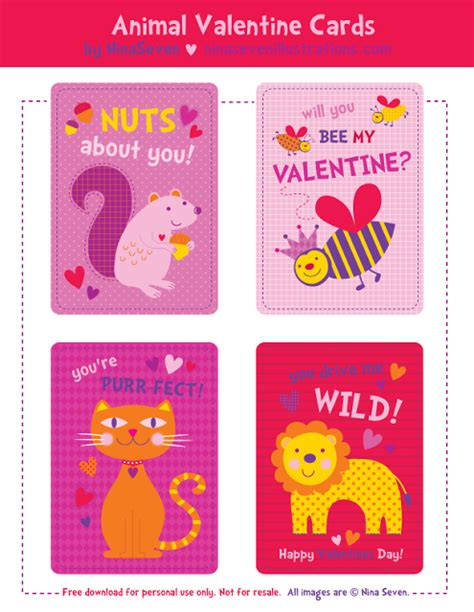 printable valentines day cards  frugal female