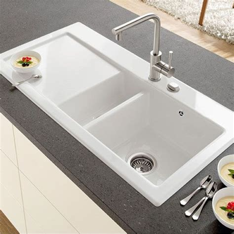 villeroy and boch kitchen sink villeroy boch subway 60 sink ceramic line sinks taps 8817