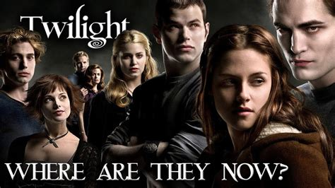 Twilight Cast: Where Are They Now? - YouTube