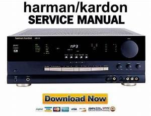 Harman Kardon Avr510 Service Manual  U0026 Repair Guide