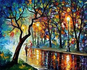 Modern impressionism palette knife oil painting kp079 ...