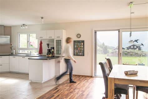 Offene Küche Wohnzimmer Ideen by Offene K 252 Che Wei 223 Mit Esstisch Wohnideen Interior Design