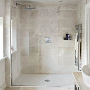 neutral bathroom ideas neutral tiled shower room decorating ideal home