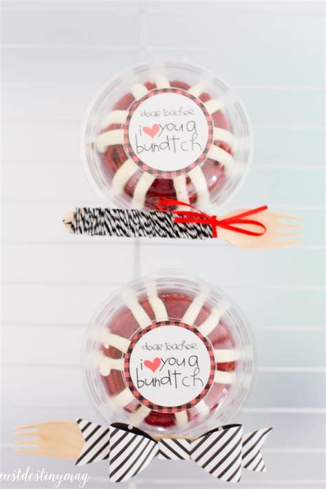 minute teacher appreciation gift idea  destiny