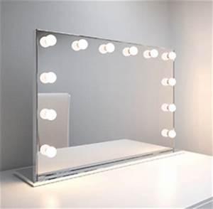 miroir eclaire pour maquillage With miroir éclairé