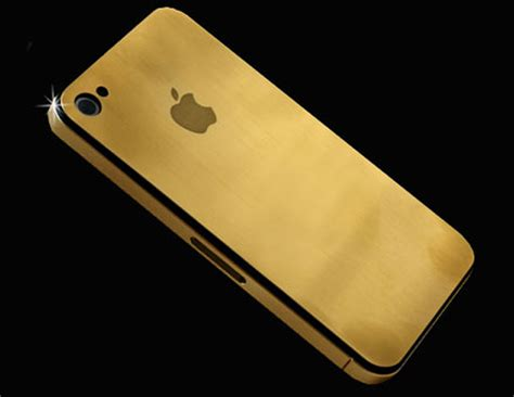 gold phone 24ct solid gold iphone 4g uniquely designed and crafted by