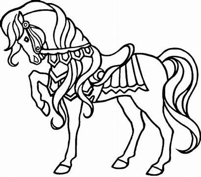 Horse Coloring Pages Horses Sheets Printable Konik