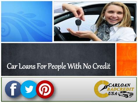 How To Get Car Loans For People With No Credit