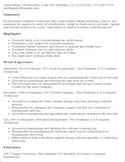 free professional resume templates livecareer