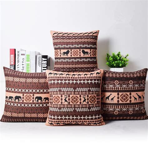 canapé style africain une d co et color e pour un salon