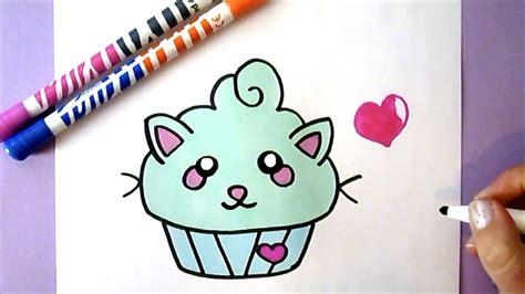 kawaii cupcake zeichnen diy wie zeichnet man einen