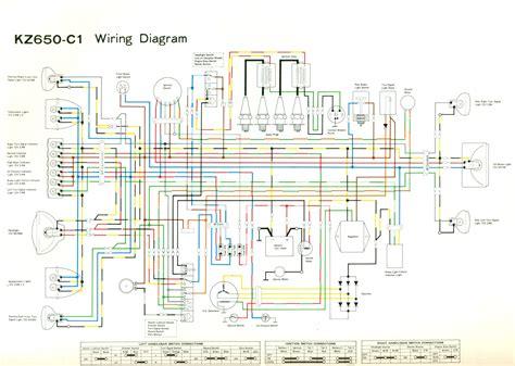 Wire Diagram 1975 Kz400 by Wiring Diagrams