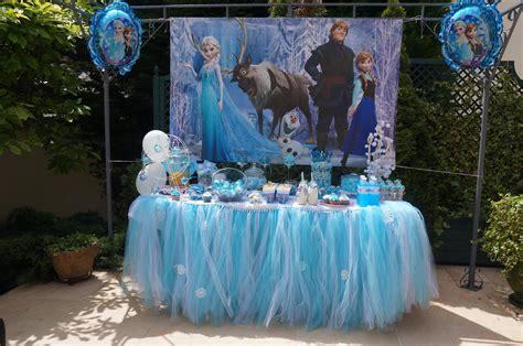 sweet table anniversaire reine des neiges le candy bar