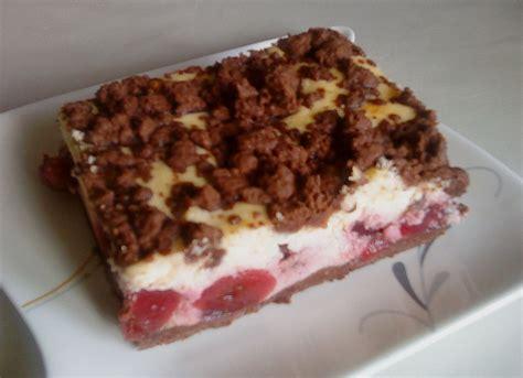 Kuchen Mit Kastenform Und Kirschen Kirsch Schoko Streusel Kuchen Luckys Home
