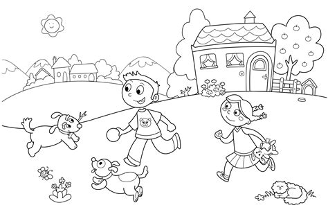Colouring Worksheets For Kindergarten  Free Printable Kindergarten Coloring Pages For Kidstler