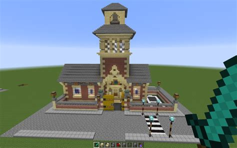 school  bell tower creation