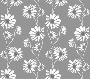 Delicate Floral Pattern Wallpaper Stencil Buy Online Now