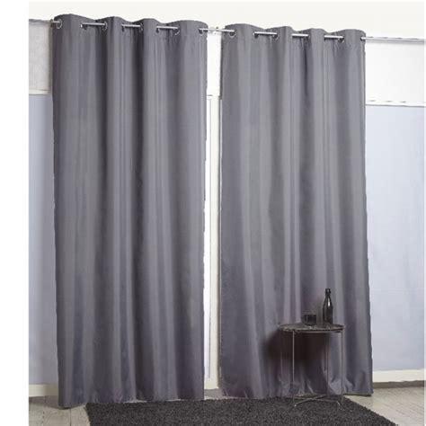 rideau 224 oeillets thermique gris fonc 233 textile d 233 co d 233 coration gifi