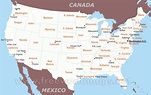 Printable Us Map With States And Cities   Printable US Maps