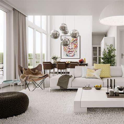 home furniture interior modern bright interior adorable home