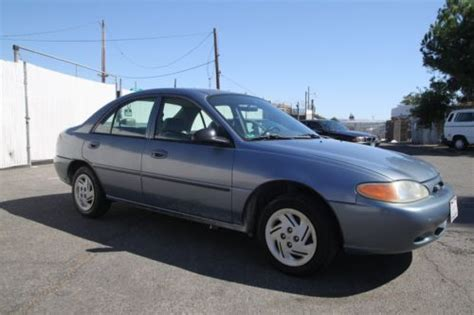 motor auto repair manual 1999 ford escort security system purchase used 1999 ford escort lx manual 4 cylinder no reserve in orange california united states