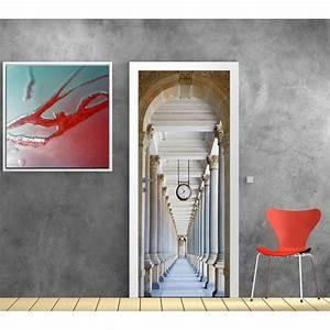 Papier Peint Art Deco : papier peint porte d co couloir art d co stickers ~ Dailycaller-alerts.com Idées de Décoration