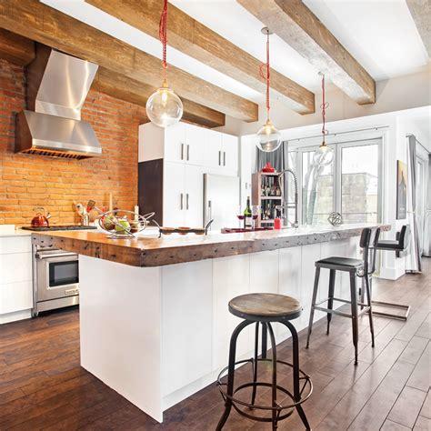 renovation cuisines rustiques une cuisine rustique industrielle cuisine inspirations décoration et rénovation pratico