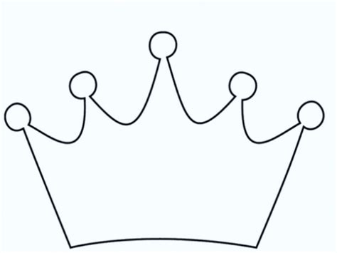 king crown template printable paper king prince princess crown template pattern