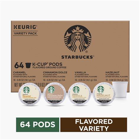 The flavors in your cup. Starbucks Flavored K-Cup Coffee Pods — Variety Pack for ...