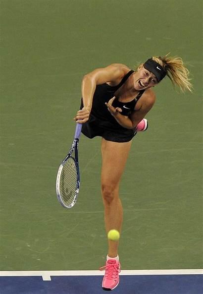 Sharapova Maria Tennis York Tournament Open 1st