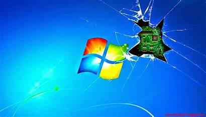 Windows Screen Wallpapers Broken Zoom Desktop Computer