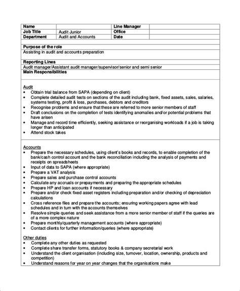 Office Junior Description Template by Office Junior Description Template Business Plan
