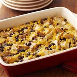 chicken black bean casserole recipe allrecipescom
