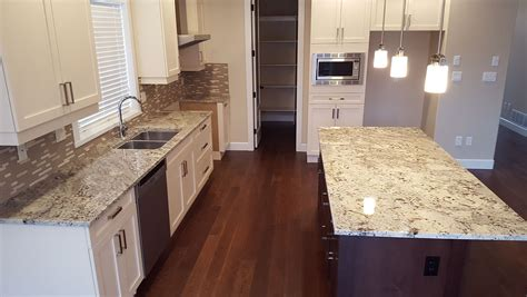 white kitchen cabinets with granite countertops top 25 best white granite colors for kitchen countertops