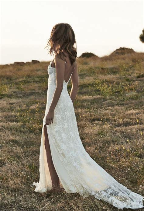top  beauty lace bohemian wedding dress designs cheap