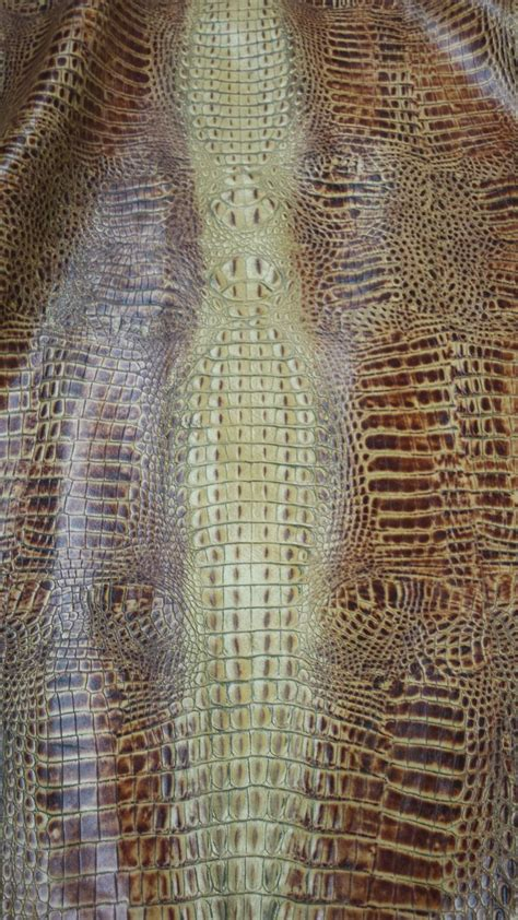 Embossed Cowhide by Crocodile Embossed Cow Leather Hide Leather Hides Cow