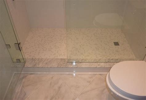installing glass tile shower floor gurus floor
