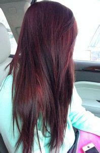 burgundy hair colors  styles