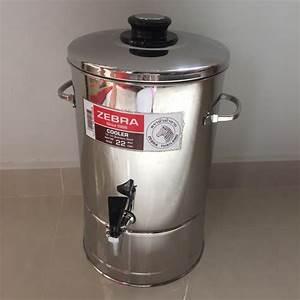 ZEBRA STAINLESS STEEL WATER DISPENSER CONTAINER, Kitchen